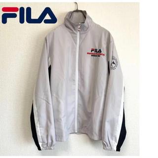 フィラ(FILA)のフィラ 刺繍ロゴ ポリエステル ジャケット(ナイロンジャケット)