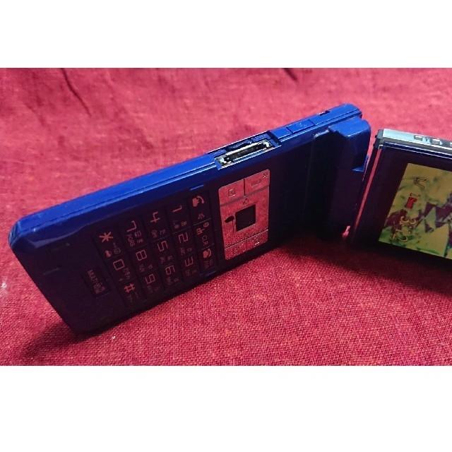 NTTdocomo(エヌティティドコモ)の 【mafumaさま専用】ドコモ SH903i サファイアブルー ガラケー本体 スマホ/家電/カメラのスマートフォン/携帯電話(携帯電話本体)の商品写真