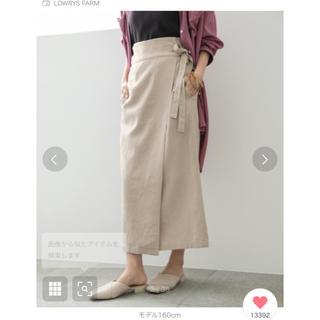 LOWRYS FARM - ラップスカート