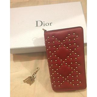 クリスチャンディオール(Christian Dior)のディオール DIOR iPhoneケース 手帳型(iPhoneケース)