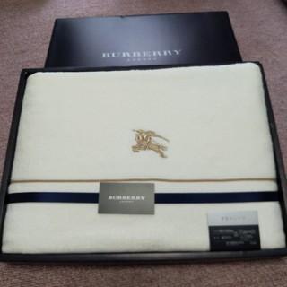 BURBERRY - バーバリータオルシーツ