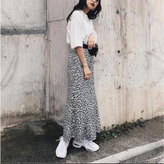 moussy - moussy レオパードマキシスカート
