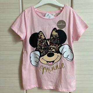H&M - H&M 120/130 ミニー リバーシブル スパンコール Tシャツ