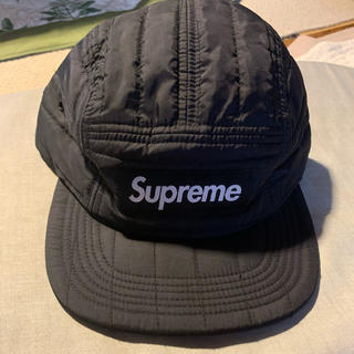Supreme - Supreme  16AWTaffeta Quilted Camp Cap