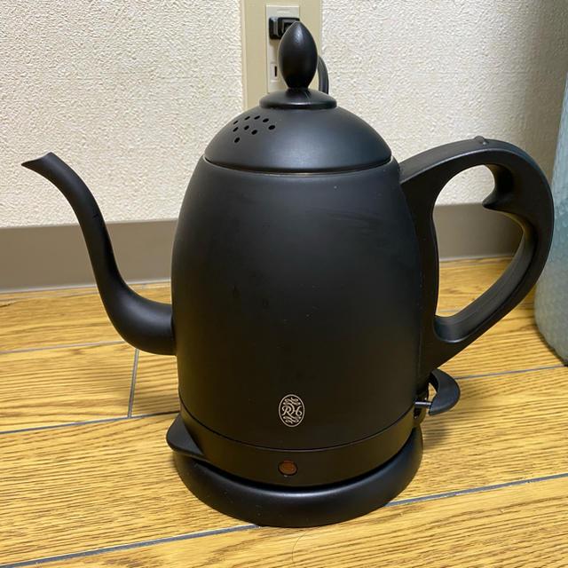 BALMUDA(バルミューダ)のラッセルホブス カフェ ケトル マットブラック 電気ポット スマホ/家電/カメラの生活家電(電気ケトル)の商品写真
