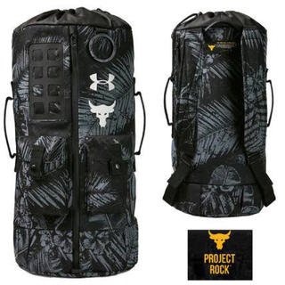 UNDER ARMOUR - 新品未使用完売品 アンダーアーマー PROJECT ROCK 新作バックパック