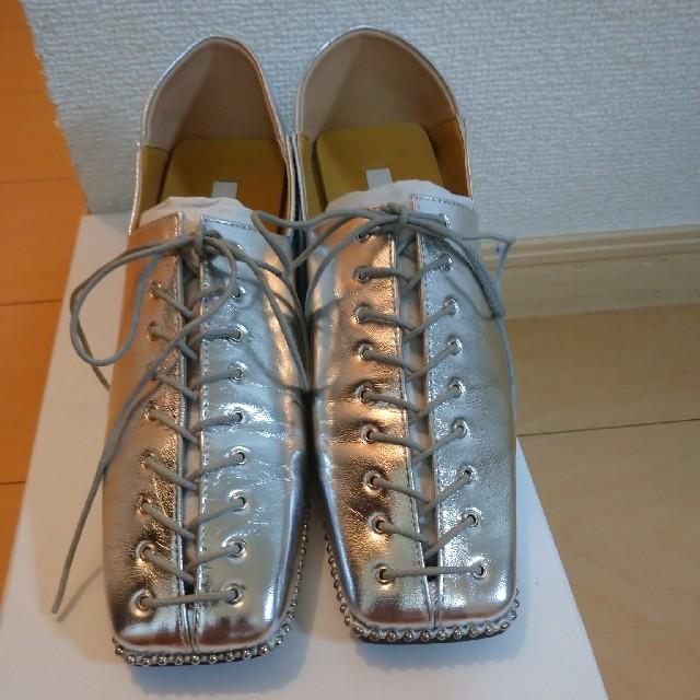 Ameri VINTAGE(アメリヴィンテージ)のAMERI レースアップ ローファー レディースの靴/シューズ(ローファー/革靴)の商品写真