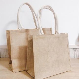 ムジルシリョウヒン(MUJI (無印良品))の無印良品 エコバッグ ジュートバッグ 新品未使用(エコバッグ)