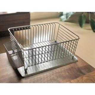 ムジルシリョウヒン(MUJI (無印良品))の無印 水切りかごセット(収納/キッチン雑貨)