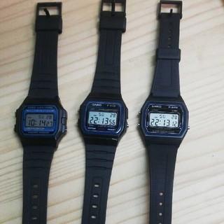 カシオ(CASIO)のf-91w 等 4本セット(腕時計(デジタル))