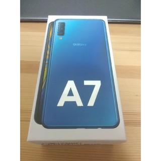 Galaxy - SAMSUNG Galaxy A7 SM-A750C 未開封新品 ブルー