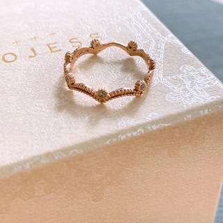 ダイヤリング k10  ピンクゴールド(リング(指輪))