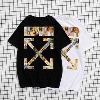OFF-WHITE - 新品 オフホワイト Tシャツ 2着8000円 男女兼用 hs163