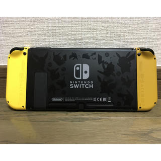 Nintendo Switch - 【美品】限定カラー ニンテンドースイッチ ポケモンver 携帯用!付属品要確認