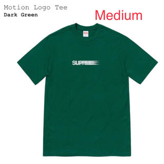 Supreme - Supreme Motion Logo tee M モーション
