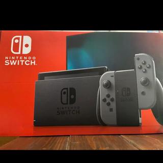 Nintendo Switch - Nintendo switch 本体 新型 グレー 新品未開封