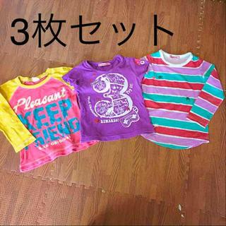 エーアーベー(eaB)の女の子  90  トップス3枚セット(Tシャツ/カットソー)