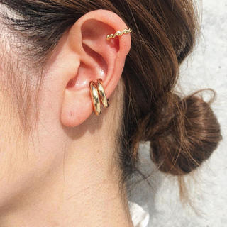 TODAYFUL - Ring gold earcuff No.88