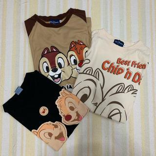 チップアンドデール(チップ&デール)のチップとデール Tシャツ3枚セット(Tシャツ(半袖/袖なし))