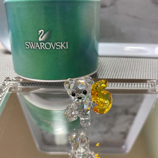 スワロフスキー(SWAROVSKI)のスワロフスキー 人気クリスベア数字5(置物)