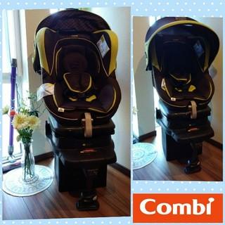 combi - ⒔●超美品●COMBIラクティアターンEGTB -470●回転式チャイルドシート