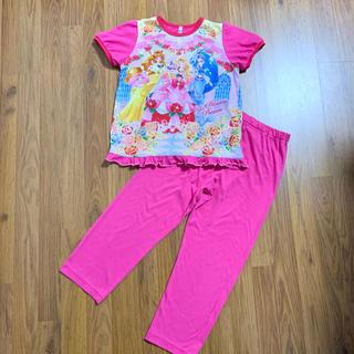 バンダイ(BANDAI)のgo!プリンセスプリキュア パジャマ 120 半袖 長ズボン スリープウェア 夏(パジャマ)