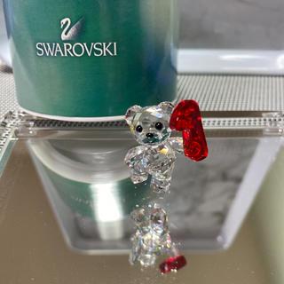 スワロフスキー(SWAROVSKI)のスワロフスキー 人気クリスベア数字1(置物)