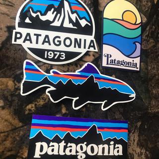 パタゴニア(patagonia)の★最新作★補強あり発送★新品未使用 パタゴニア ステッカー4枚セット(その他)