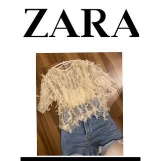 ZARA - ZARA トップス ブラウス