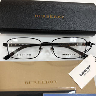 バーバリー(BURBERRY)のバーバリー BURBERRY BE1287TD 1001 眼鏡 メガネフレーム(サングラス/メガネ)