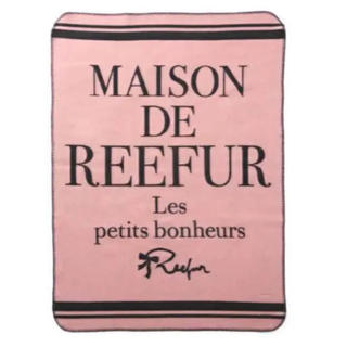 Maison de Reefur - 【新品・未使用】メゾンドリーファーブランケット