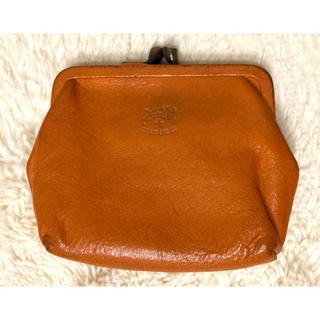 IL BISONTE - イルビゾンテ 正規品 保証書あり 財布 がま口 コインケース オレンジ