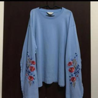Jieda - jieda ジエダ  flower embroideryTシャツ