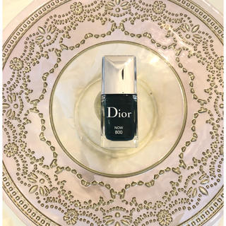 クリスチャンディオール(Christian Dior)のディオール ヴェルニ ネイルエナメル✨NOW 800(マニキュア)