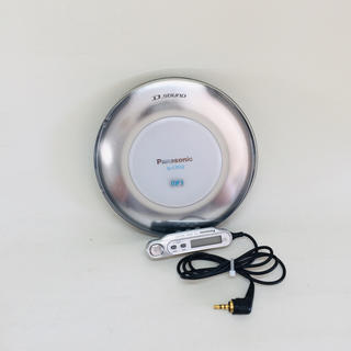 パナソニック(Panasonic)のパナソニック ポータブルCDプレーヤー シルバー SL-CT510-S(ポータブルプレーヤー)