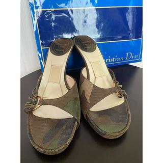 クリスチャンディオール(Christian Dior)のクリスチャン ディオール ミュール サンダル パンプス ヒール(ミュール)