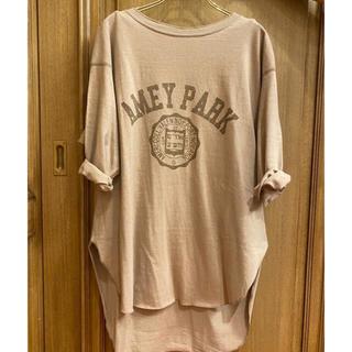 DEUXIEME CLASSE -  Deuxieme Classe Americana バックヘンリーTシャツ
