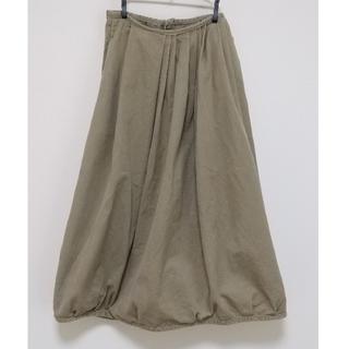 オムニゴッド(OMNIGOD)のOMNIGOD リバースチノ ギャザースカート(ロングスカート)