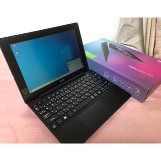 エイサー(Acer)のAcer 2in1 タブレット Aspire Switch 10E SW3 中古(ノートPC)