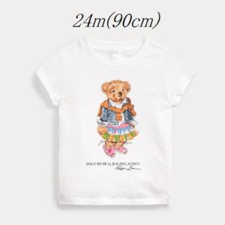 Ralph Lauren - Ralph Lauren マドラス ベア コットン Tシャツ 24m