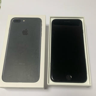 iPhone - iPhone7 plus 128GB Black SIMフリー 箱付き