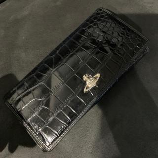 ヴィヴィアンウエストウッド(Vivienne Westwood)のヴィヴィアン オーブ 型押し 長財布(長財布)