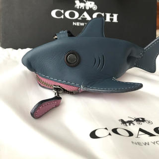 コーチ(COACH)のCOACH シャーキー レザー コインケース(コインケース)