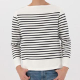 ムジルシリョウヒン(MUJI (無印良品))の無印良品 バスクシャツ(Tシャツ/カットソー(七分/長袖))
