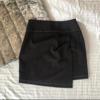ZARA - ZARA ラップ巻き風スカート