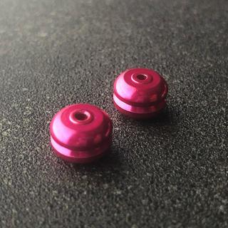 ミニ四駆 マスダンパー (ノーマルx2) ピンク(模型/プラモデル)