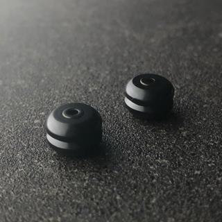 ミニ四駆 マスダンパー (ノーマルx2) ブラック(模型/プラモデル)