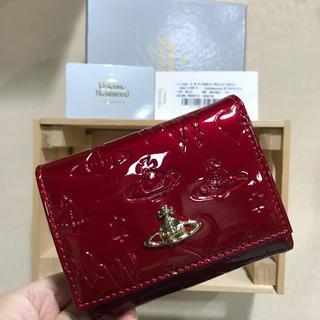 Vivienne Westwood - Vivienne Westwood ヴィヴィアン 三つ折り財布 上品 エナメル