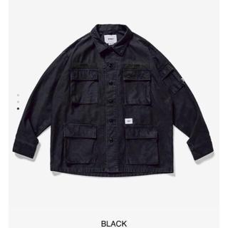 W)taps - L WTAPS 20SS JUNGLE LS 01 SHIRT Black