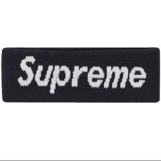 Supreme - 【最終値下げ】SUPREME ヘアバンド ブラック フリーサイズ